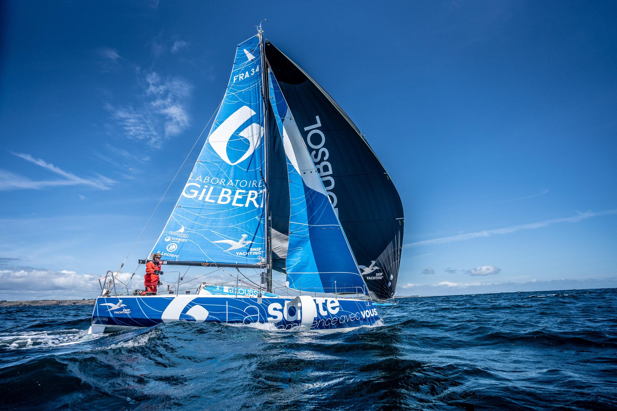 Fabien Delahaye ambitieux à l'approche de la Solitaire du Figaro : « Mon objectif, c'est le classement général »